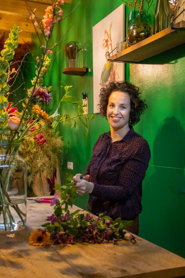 Plukboeket boeket workshop bloemen uitgeest heemskerk akersloot castricum limmen heiloo