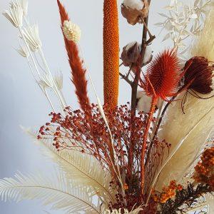 Droogboeket droogbloemen boeket bloemen naturel boeket sturen uitgeest heemskerk bloemenwinkel akersloot limmen heiloo alkmaar webshop droogbloemen driedflowers cadeau