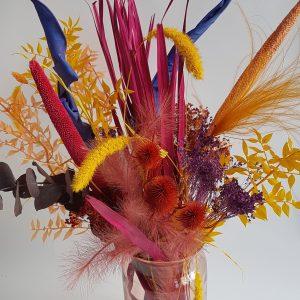 Droogboeket droogbloemen winkel webshop bloemen heemskerk uitgeest limmen akersloot alkmaar castricum driedflowers