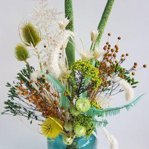 Droogboeket droogbloemen versturen webshop uitgeest heemskerk castricum limmen heiloo akersloot alkmaar castricum driedflowers bloemen bezorgen