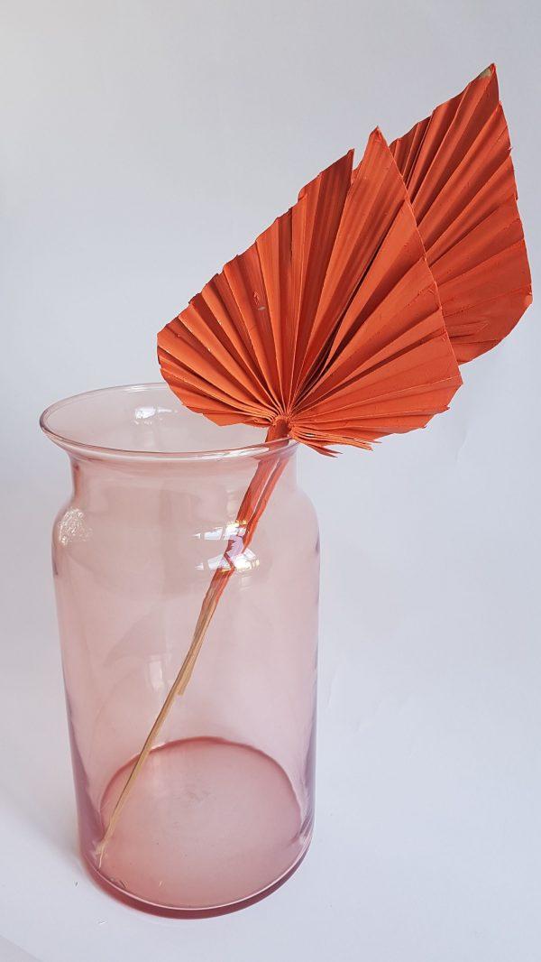 Droogbloemen in vaas melkbus roze droogboeket bloemen versturen heemskerk alkmaar zaandam uitgeest castricum nederland driedflowers
